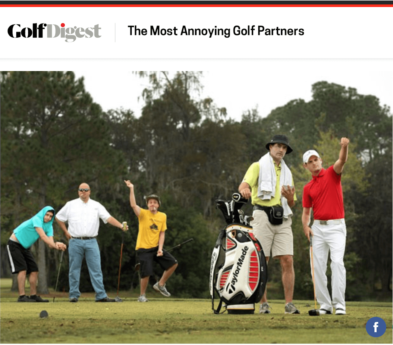 golf digest annoying snob