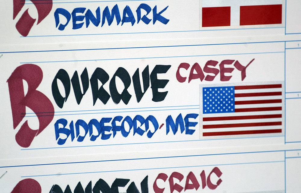 Casey Bourque - US Open Championship Leaderboard