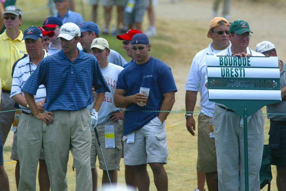 Leaderboard practice round - 2004 US Open Championship Golf