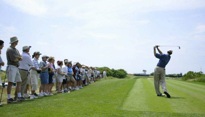 Tee Shot 13th Hole - 2004 US Open Golf
