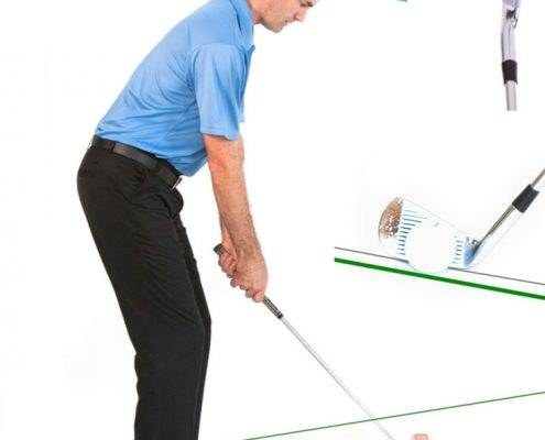 golf sidehill lies ball above feet
