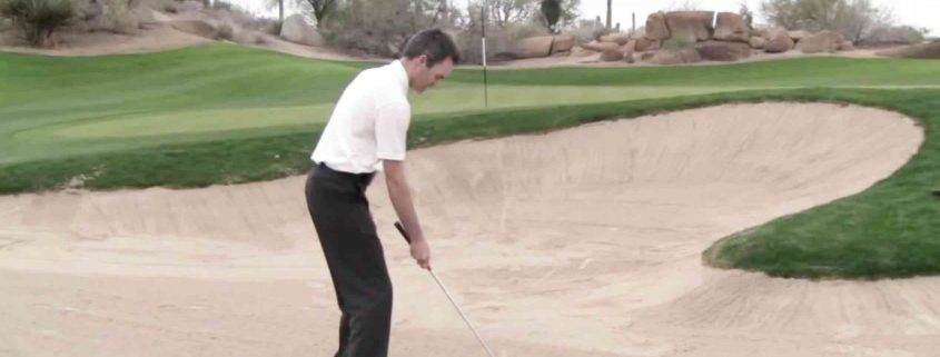 bunker shot technique