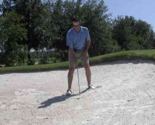 buried bunker lies