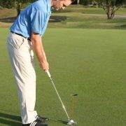 golf alignment putting drill