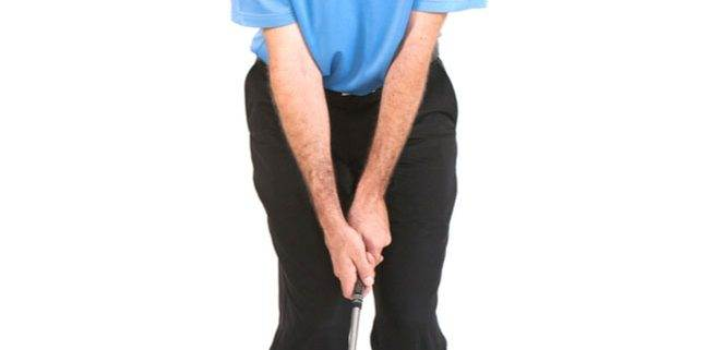 chipping stance and motion
