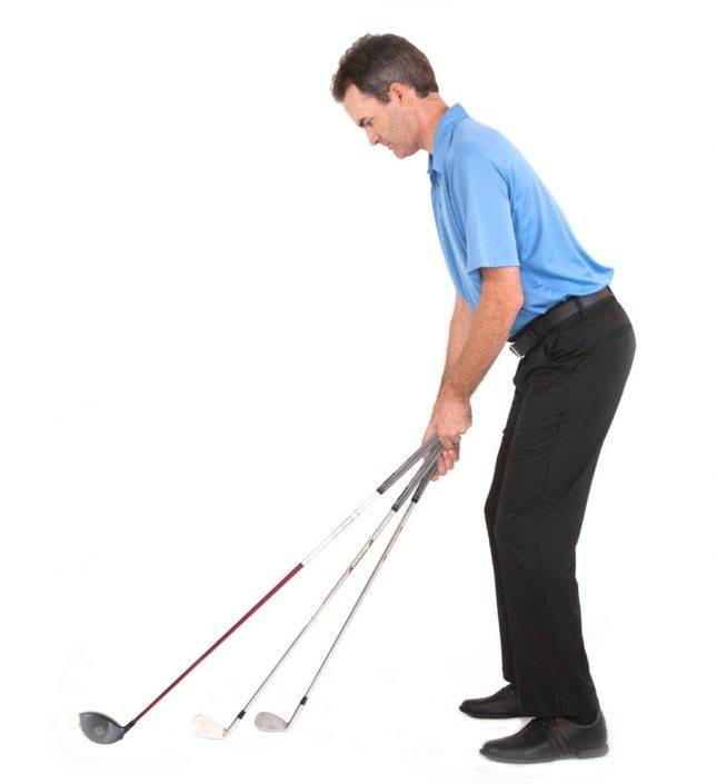 golf shot height and length