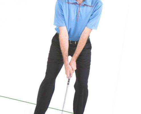 golf how to handle downhill lies