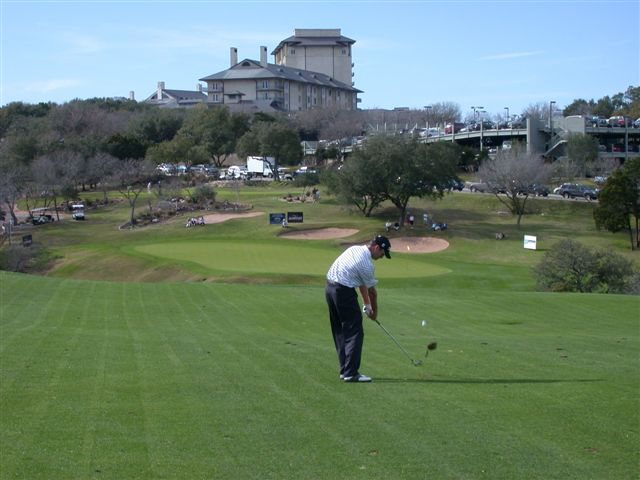 Canadian PGA Tour - 18th Hole Austin Texas