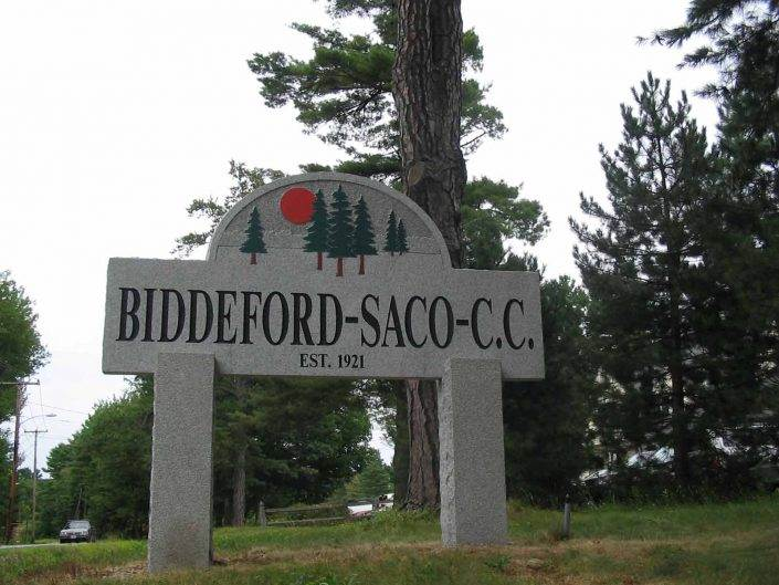 Casey's home golf course in Maine - Biddeford & Saco Country Club