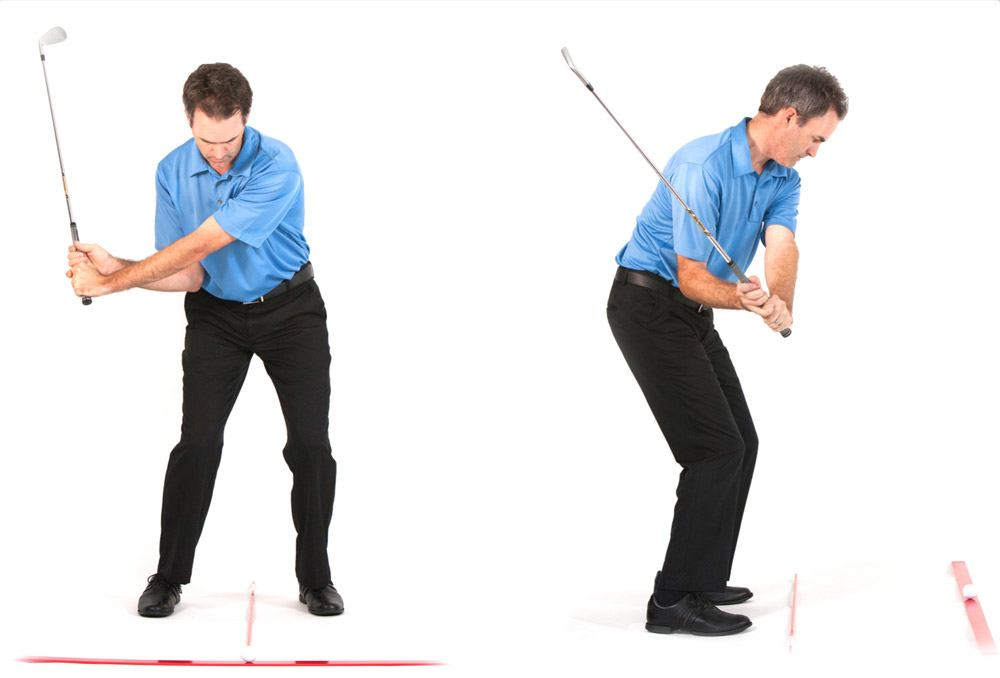golf swing positions