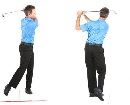 golf swing finish position