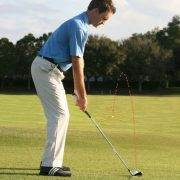 golf shot carry and roll