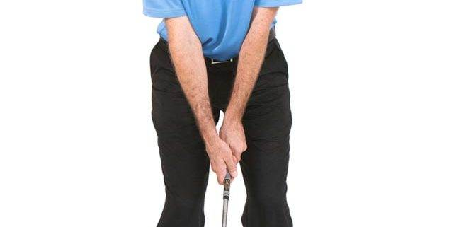 pitching and chipping head position