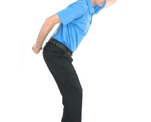 golf swing stance and posture