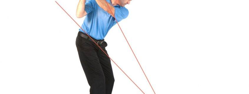 golf swing staying on plane