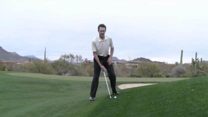 golf handling uphill lies
