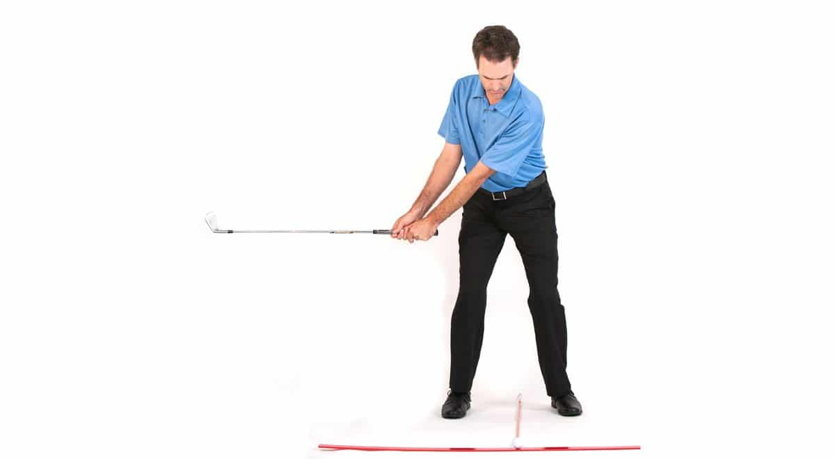 simplest short game tip backswing length