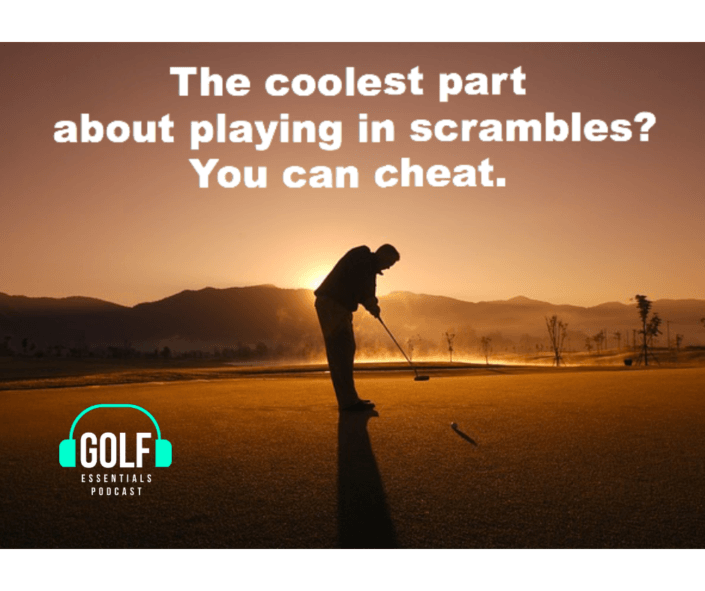 scramble tournament tips