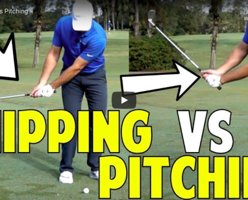 pitching chipping